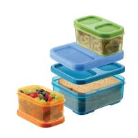 Wholesale LunchBlox Kid's Tall Lunch Box Kit, Blue/Orange/Green from china suppliers