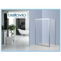 Wholesale Bright Framed Stainless Steel Shower Enclosures Glass One Sliding Door Shower Box from china suppliers