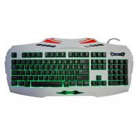 Wholesale USB Wired Portable Gaming Computer Keyboard with multimedia and adjustable backlit anti ghosting 19 keys from china suppliers
