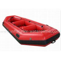 Wholesale Commercial Two Person PVC Inflatable Fishing Boat Customized Logo With Air Pump from china suppliers