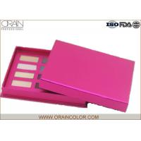 Buy cheap Twelve Color Eye Shadow Palette in Rose Red Color Cardboard Case for Eye Makeup from wholesalers