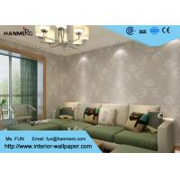 Wholesale Sliver Floral Pattern Modern Removable Wallpaper for Living Room from china suppliers