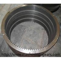 Wholesale Rotary Kiln Internal Tooth Gear / Ball Mill Hss Large Ring Gear Abrasion Resistant from china suppliers