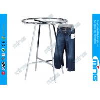 Wholesale Chrome Adjustable Round Hanging Clothes Garment Racks from china suppliers