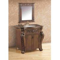 Wholesale Freestanding Antique Polyresin Bathroom Cabinet With Mirror Vanity Combo from china suppliers
