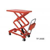 Wholesale Mobile Electric Table Lift System , Metal Lightweight Scissor Lift Table from china suppliers