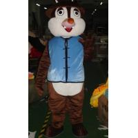 Wholesale Foam plastic squirrel chipmunk mascot kid animal costumes for commodity sales exhibition from china suppliers