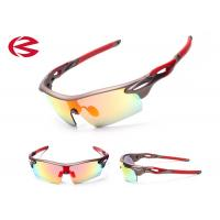 Wholesale Unbreakable REVO Lens Polarised Sports Sunglasses , Adjustable Nose Pad Outdoor Sports Glasses from china suppliers