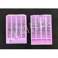 Wholesale Purple Plastic Histology Cassette , Disposable Tissue Processing Cassettes from china suppliers