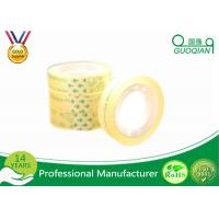 Wholesale Smooth Clear Color Code Tape , Water Based Transparent Bopp Tape Pressure Sensitive from china suppliers