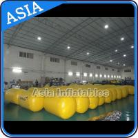 Wholesale Inflatable Buoys , Cylinder Shape For Water Triathlons Advertising from china suppliers