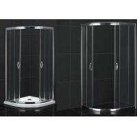 Wholesale Round Shape Bathroom Shower Room Tempered Acrylic Tray Glass Shower Enclosure from china suppliers
