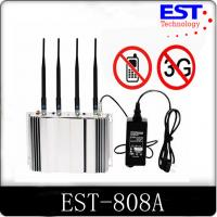 Wholesale 3G Cell Phone Signal Jammer Blocker EST - 808A 2100 - 2200MHZ Frequency from china suppliers