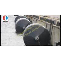 Wholesale Natural Rubber Foam Filled Fenders , SGS Marine Rubber Fender from china suppliers