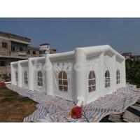 Wholesale 12mL*6mW*3.35mH White Inflatable Wedding Tent With 210D PVC Coated Nylon from china suppliers