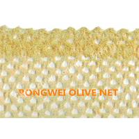 Wholesale Beige Color Round Hole Mesh Netting For Olive Collection , Agriculture Harvest Net from china suppliers