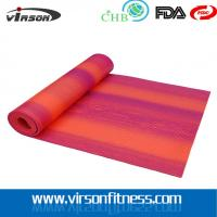 Wholesale Gym fitness Wholesale New product 2015 Digital Printed rainbow Pvc Yoga mat from china suppliers