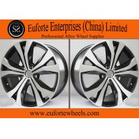 Wholesale Tiguan Replica 19 Inch Black Aluminum Wheels Rims / Replica Wheels For Volkswagen from china suppliers