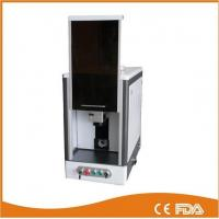 Quality Full enclosed model fiber laser marking machine, laser power 20W for sale