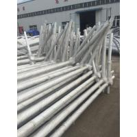 Wholesale Exterior Octagonal Street Light Poles Single / Double Arm 85um Weld Peneration from china suppliers