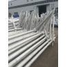 Buy cheap Exterior Octagonal Street Light Poles Single / Double Arm 85um Weld Peneration from wholesalers