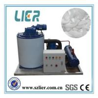 Quality 1T Small Flake Ice Machine With Ice Storage Room High Efficient for sale