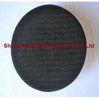 China Customized self-adhesive hook and loop sanding pad for grinding on sale