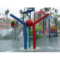 Wholesale Water Pool Toys 3 Color Iron Pillars Spray  For Children from china suppliers