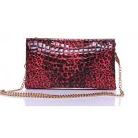Wholesale metal chain wrist cross-body clutch bags pythons patent leather from china suppliers