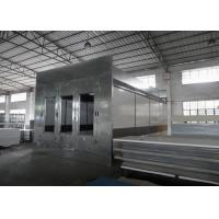 Quality Automotive Paint Spray Booth Heat Recovery System Air Flow Controlled for sale