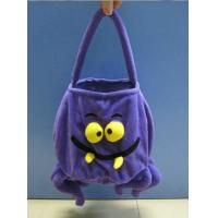 Wholesale 12inch Purple Halloween Gift Bag Stuffed Plush Toys For Halloween Party from china suppliers