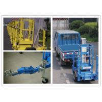 Wholesale 8 Meter Hydraulic Work Platform , Trailer Mounted Lift For One Person from china suppliers