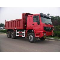 Wholesale Sinotruk howo new dump truck 25tons tipper truck Euro II 371hp red color from china suppliers