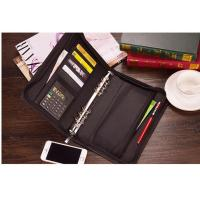 Wholesale Custom A4 Leather Portfolio Folder Organizer, business Portfolio Organizer from china suppliers