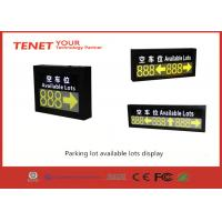 Wholesale Outdoor led display for parking guidance system from china suppliers