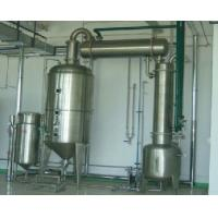 China Double Effect Falling Film Evaporator / Ethanol Recovery With Hot Pressure Pump on sale