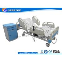 Wholesale Height Adjustable Hill Room Electric Hospital Bed with bumper castors Five Year Warranty from china suppliers
