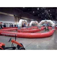 Wholesale Top Quality Inflatable Air Zorb Ball Race Track For Sport Games from china suppliers