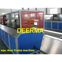 Wholesale PVC WPC Production Line For Hollow Door Profile , WPC Door Manufacturing Machine from china suppliers