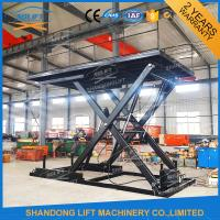 Wholesale CE TUV SGS 3.3M Hydraulic Scissor Car Lifts For Small Garages 3000kg Loading Capacity from china suppliers