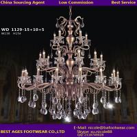 Wholesale 2015 new modern candle crystal chandelier, sourcing agent for lighting in Guzhen from china suppliers