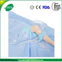 Wholesale BEST EO sterile disposable knee arthroscopy drape with fluid collection pouch from china suppliers