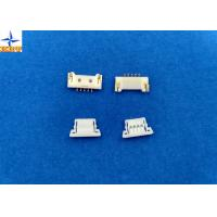 Wholesale 1.25mm Pitch usb Circuit Board Wire Connectors With Lock Structure PA66 / LCP Material from china suppliers