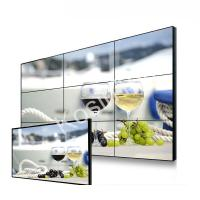 Wholesale High Definition LCD Video Wall Display , Indoor Narrow Bezel Seamless LCD Wall from china suppliers