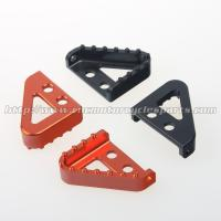 Wholesale CNC Machined Aluminum Motorcycle Brake Pedal Step Plate For Dirt Bike from china suppliers