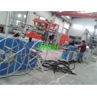 Wholesale Flexible Plastic Corrugated Pipe Production Line For Swimming Pool Electrical Conduit from china suppliers