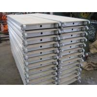 Wholesale Scaffolding / Scaffold Galvanized Aluminum Scaffold Plank With Hook from china suppliers
