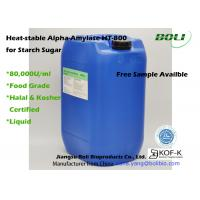 Buy cheap Liquid Form Food Use Heat Stable Alpha Amylase HT-800 With Halal And Kosher from wholesalers