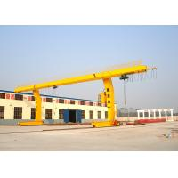Wholesale Container Single Beam Gantry Crane 10 Ton , L Shape Workstation Cranes from china suppliers