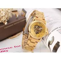 Wholesale Beautiful Storm Winner Round Gold Ladies Automatic Watch Stainless Steel Bracelet  from china suppliers